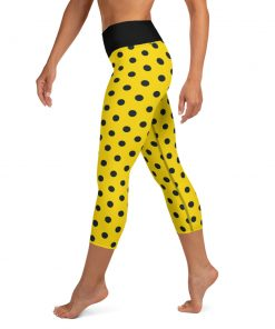 polka dot workout leggings