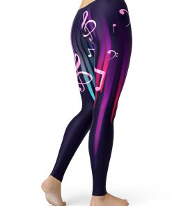 music note leggings