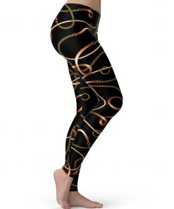 Versace inspired leggings