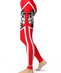 skull valentine leggings